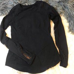 Lululemon long sleeve reflective top